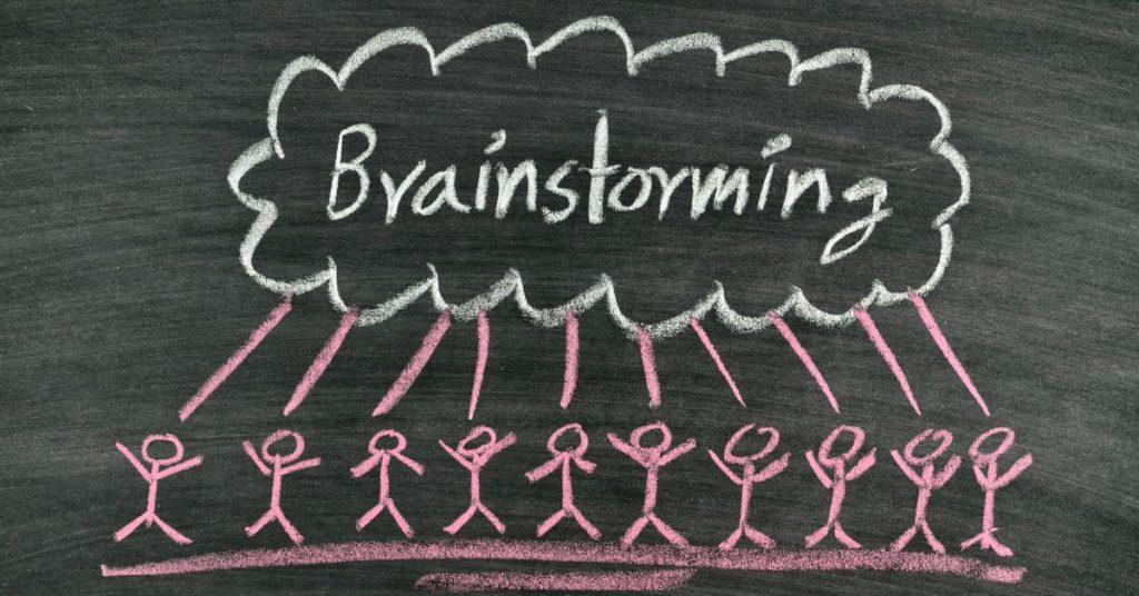Chcesz poznać ciekawy sposób, żeby znaleźć ciekawe pomysły na biznes? Brainstorming!