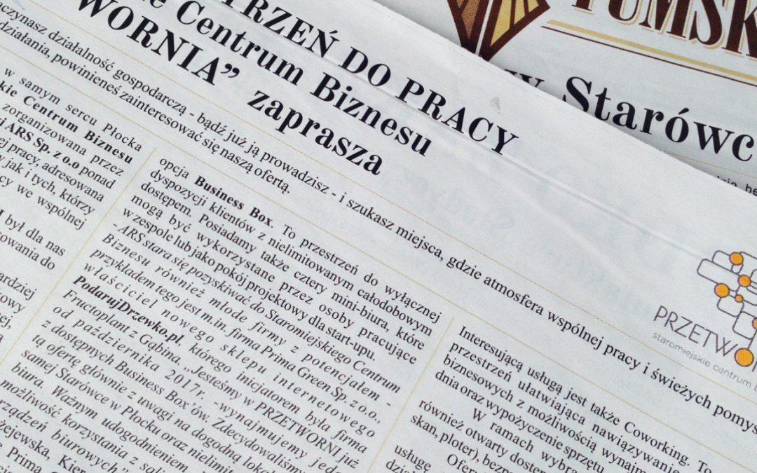 SCB Przetwornia w Expressie Tumskim